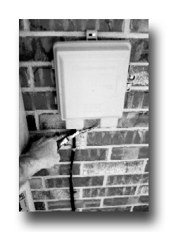 Home Security System Protection For Telephone Line To Prevent  Burglars and Crooks From Cutting